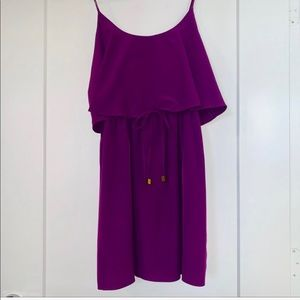 kaya di koko Dresses - Kaya di Koko 💜 Purple Drawstring Dress